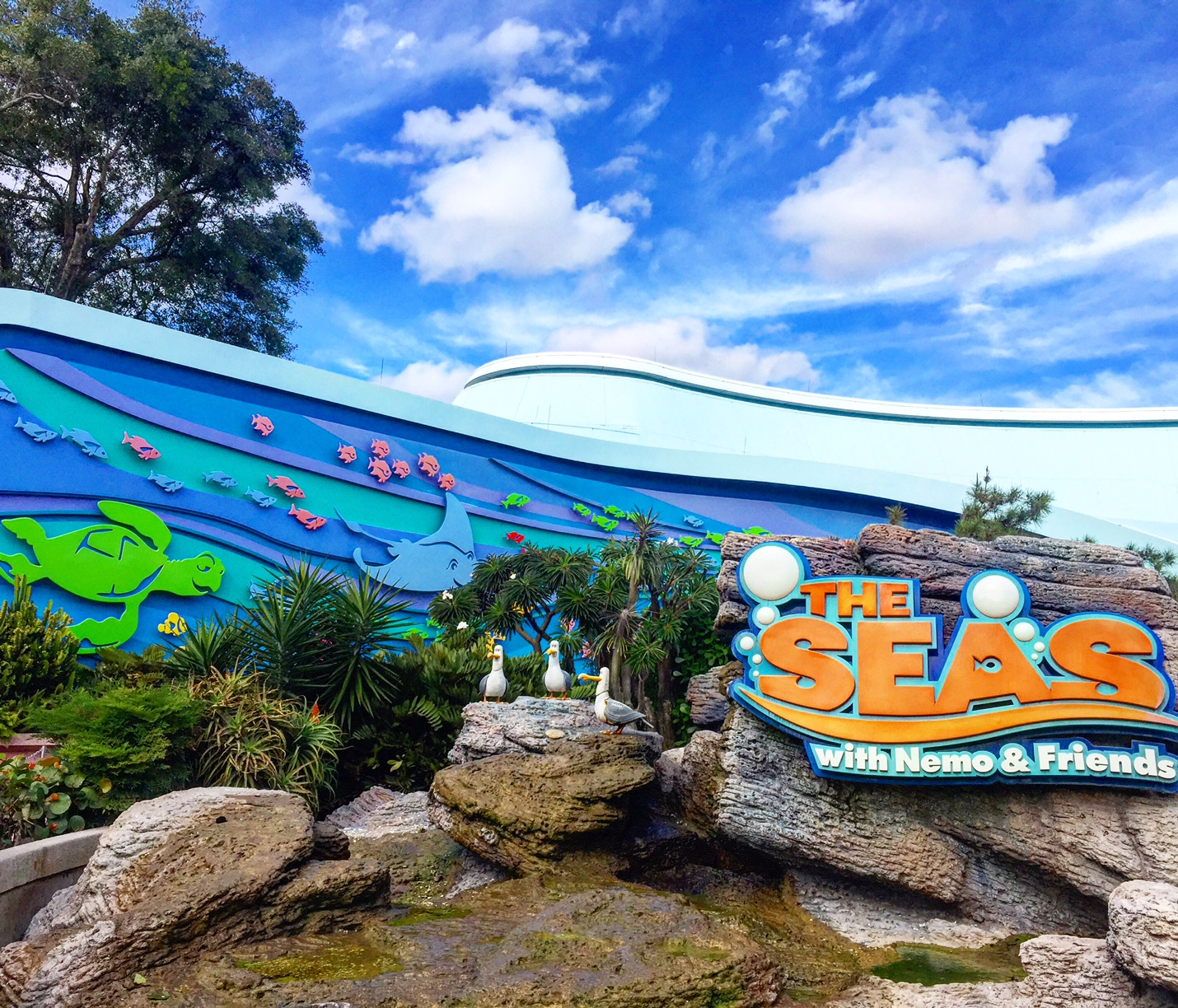 Onthego In the Parks Epcot The Seas with Nemo & Friends Exterior