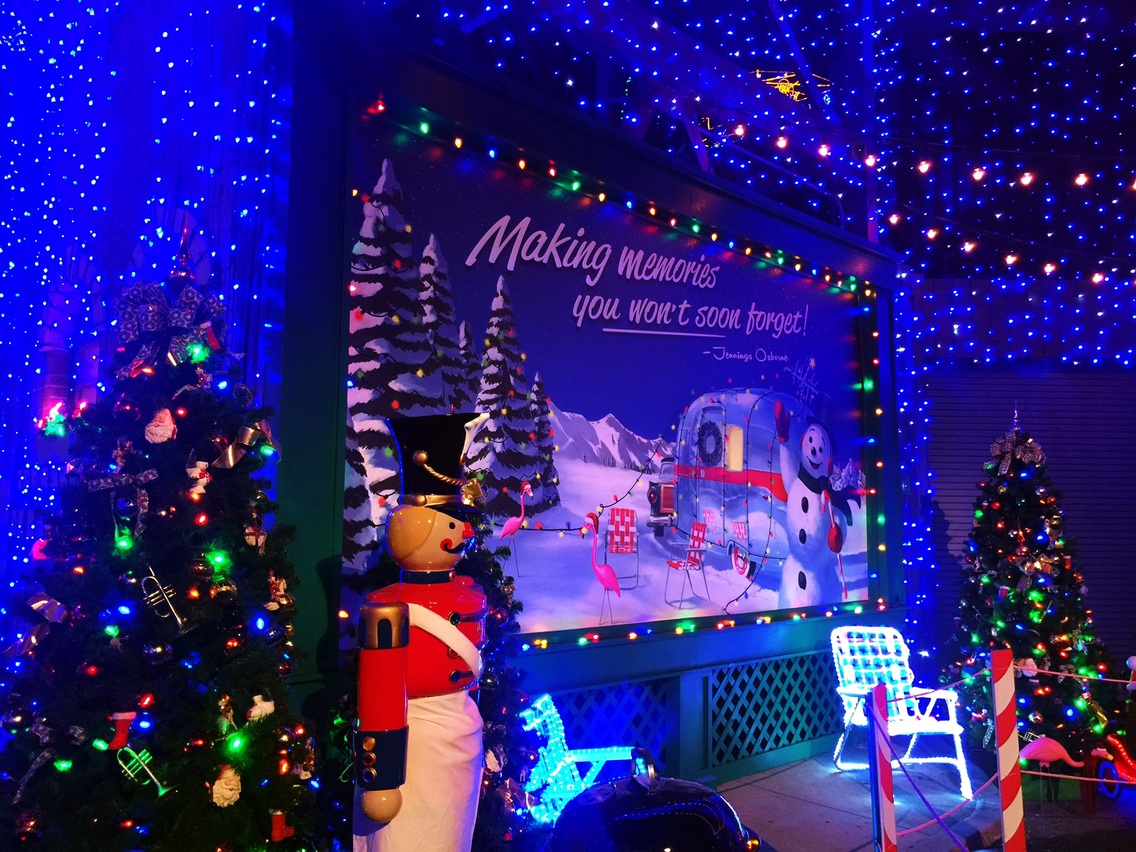 Wordless Wednesday Disney's Hollywood Studios Osborne Family Spectacle of Dancing Lights 2016
