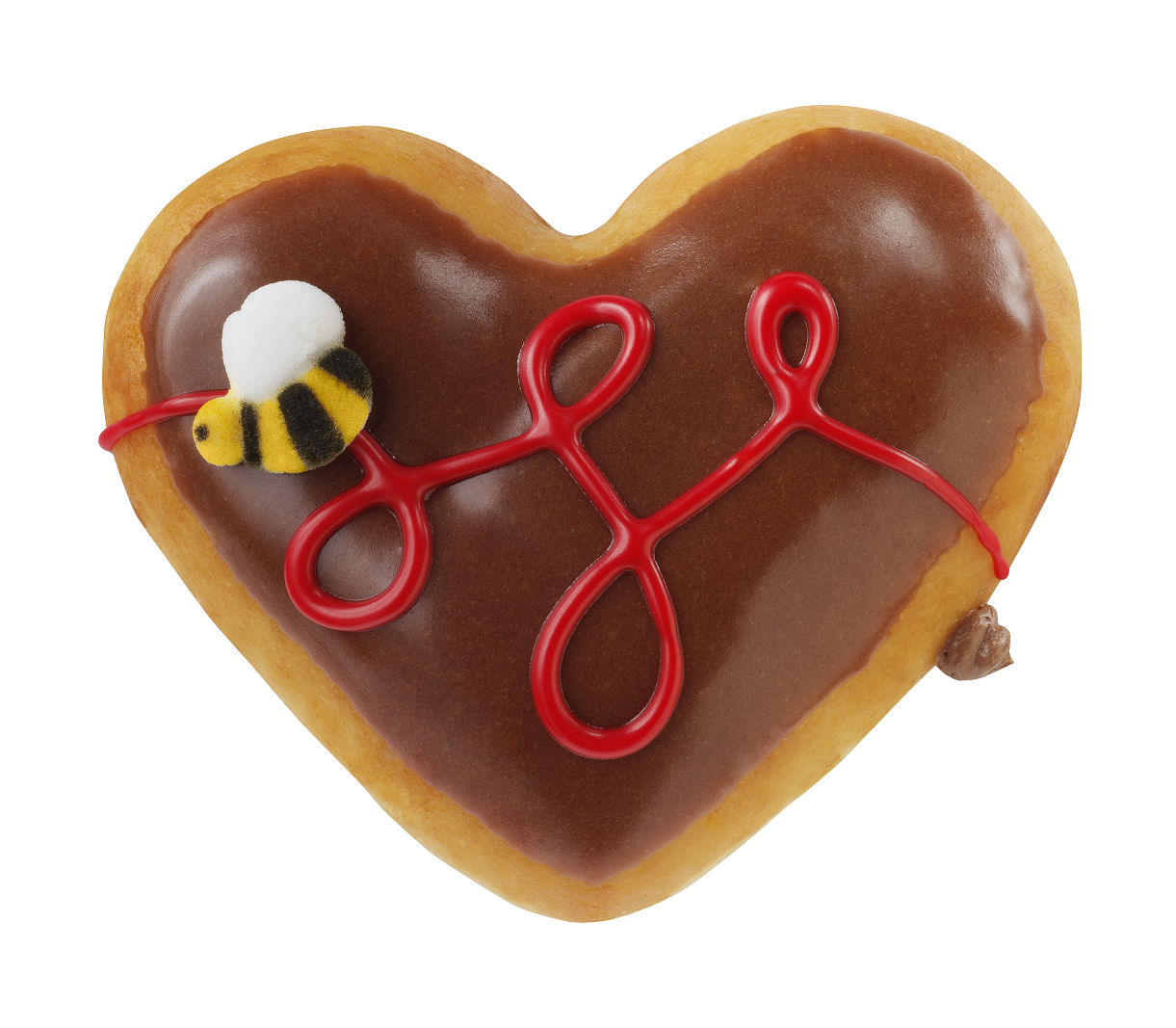 Valentine's Day Bee Mine at Krispy Kreme