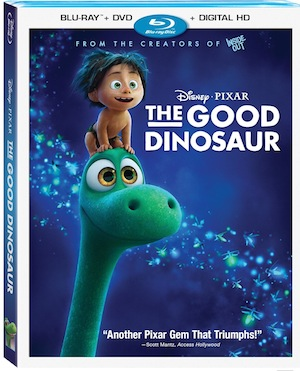 The Good Dinosaur Bluray Combo