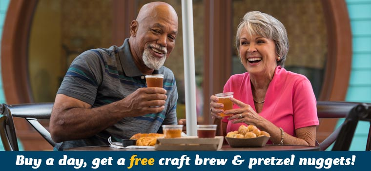 SeaWorld Orlando Bands Brew BBQ Beer Offer