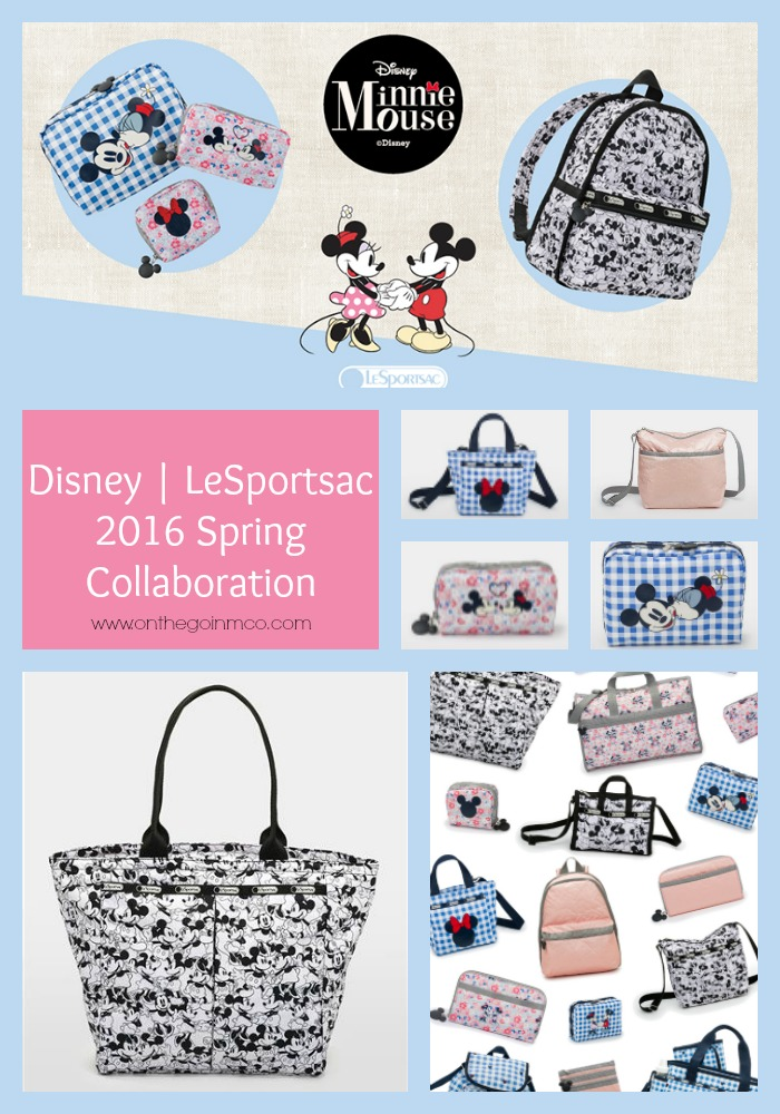 Disney LeSportsac 2016 Spring Collaboration