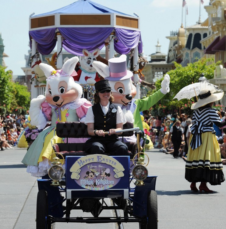 Easter at Walt Disney World Magic Kingdom