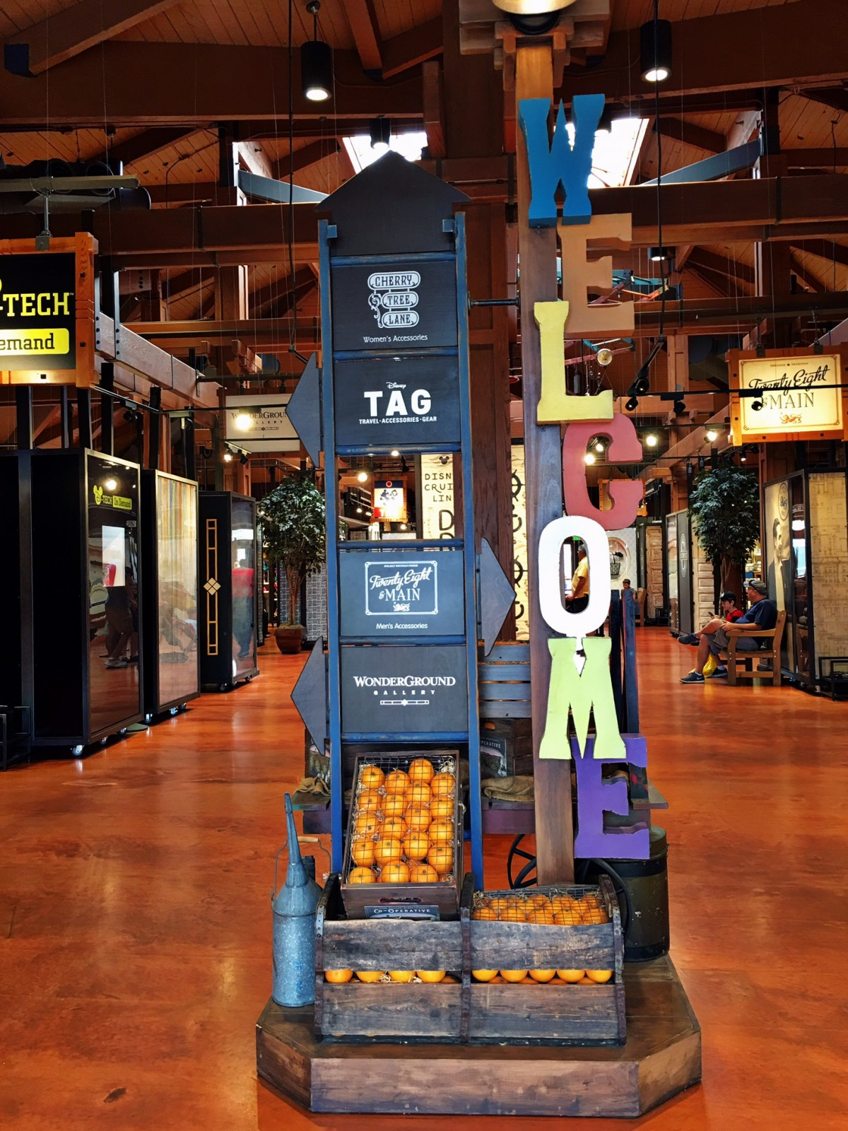Disney TAG Disney Springs Walt Disney World -