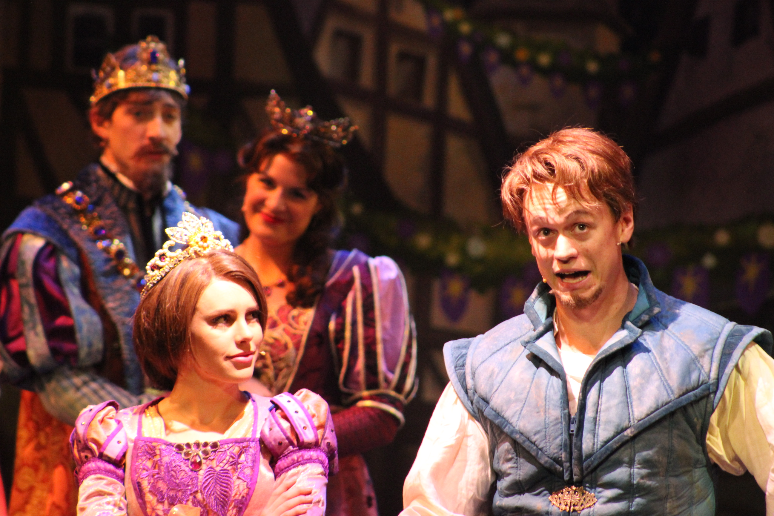 Disney Cruise Line Disney Magic Tangled The Musical Ending On The Go In Mco