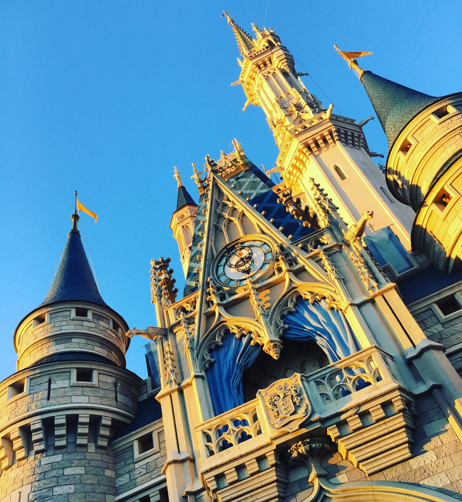 Wordless Wednesday March 2016 Magic Kingdom Cinderella Castle Walt Disney World