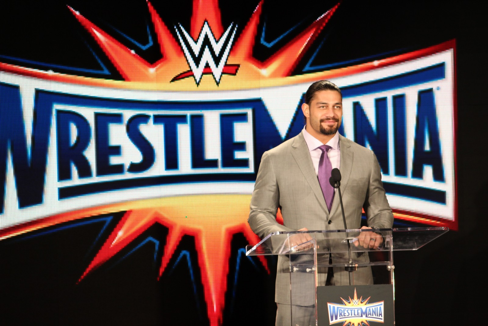 WrestleMania 33 Announcement Orlando Citrus Bowl