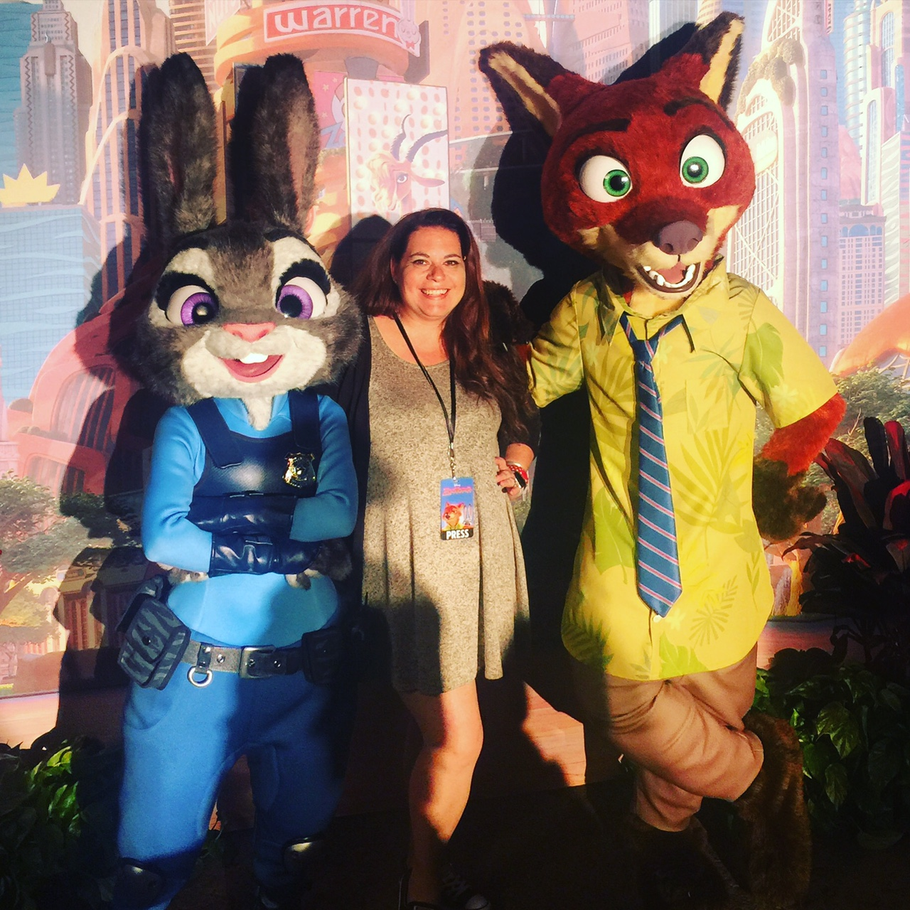 Wordless Wednesday Zootopia Judy Hopps Nick Wilde ZootopiaEvent Disney's Animal Kingdom