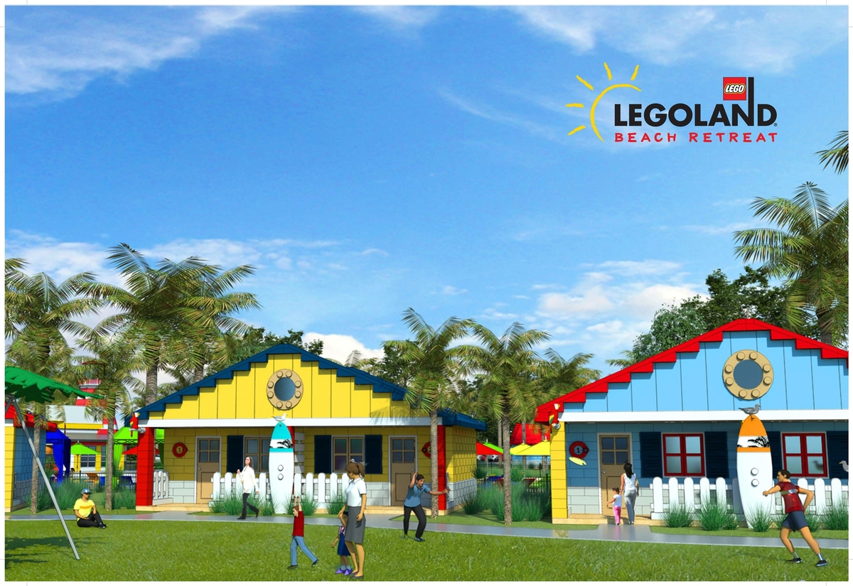 LEGOLAND Florida Announcement - LEGOLAND Beach Retreat