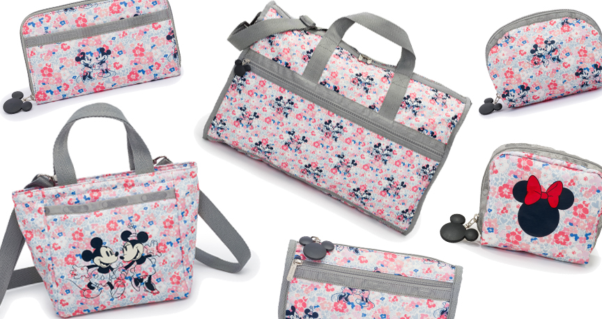 LeSportsac Spring 2016 Disney - Floral Patterns