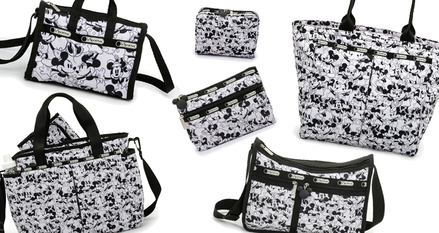 LeSportsac Spring 2016 Disney - Mickey Loves Minnie Patterns