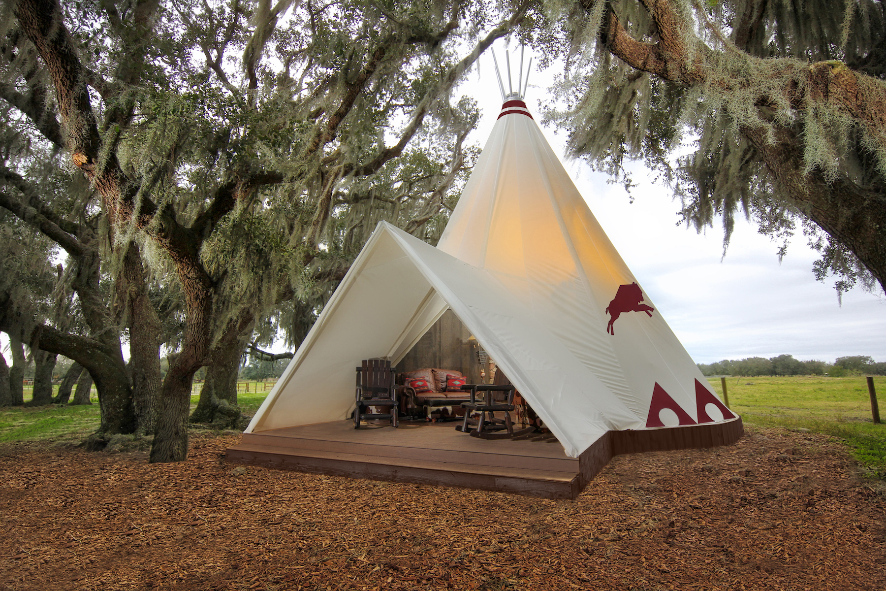 Westgate River Ranch Introduces Luxe Teepees On The Go