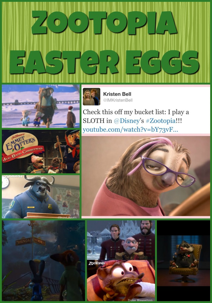 Zootopia Easter Eggs Header Image
