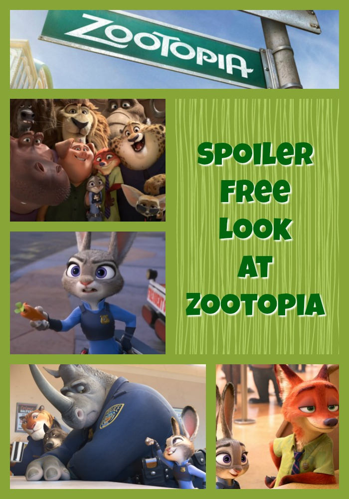 Zootopia Review Header