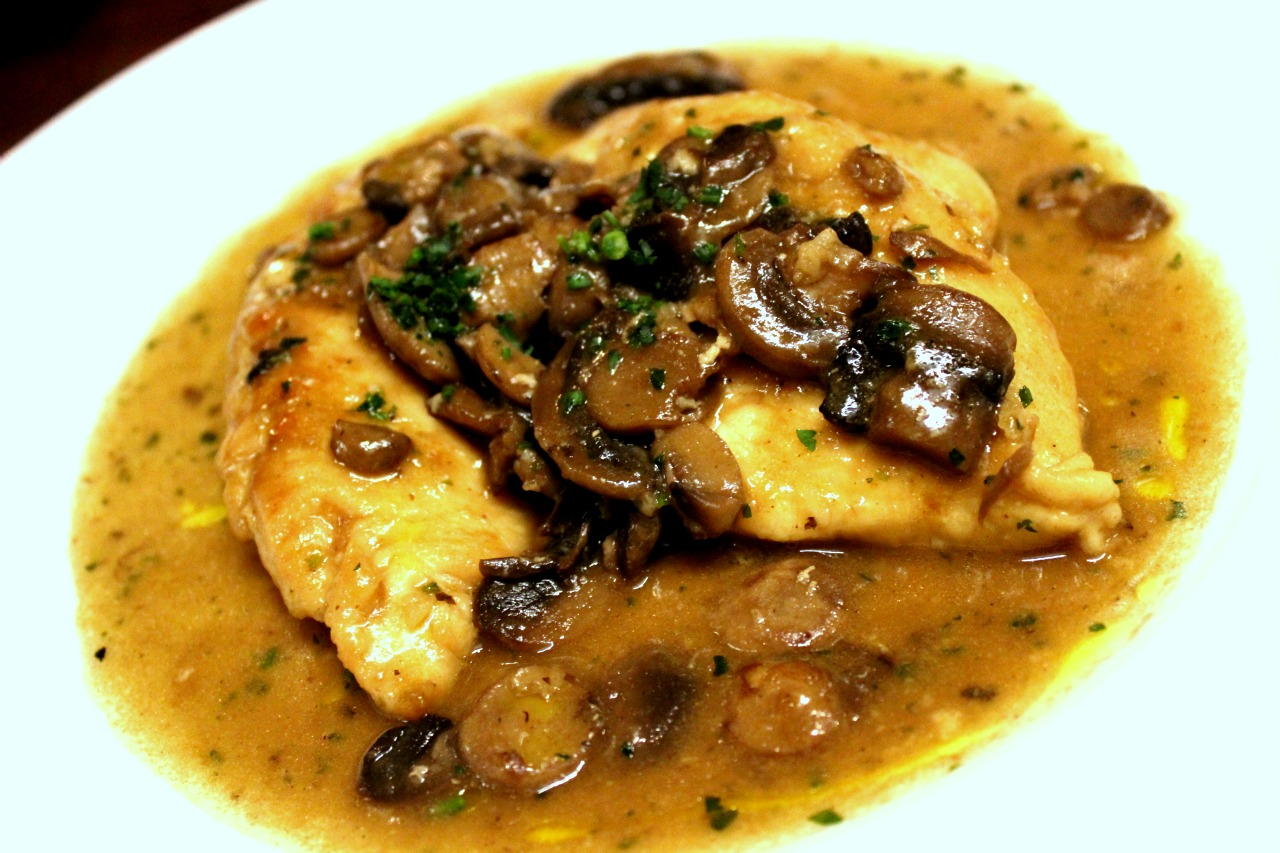 Tutto Italia Summer Menu 2016 - Chicken Scaloppine