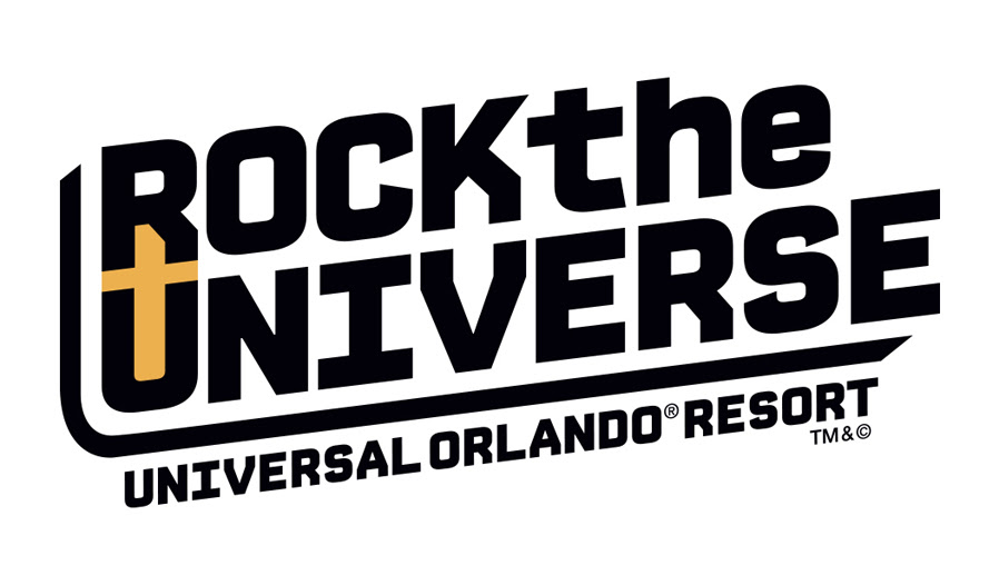 Universal Orlando Resort Rock the Universe 2016 Logo