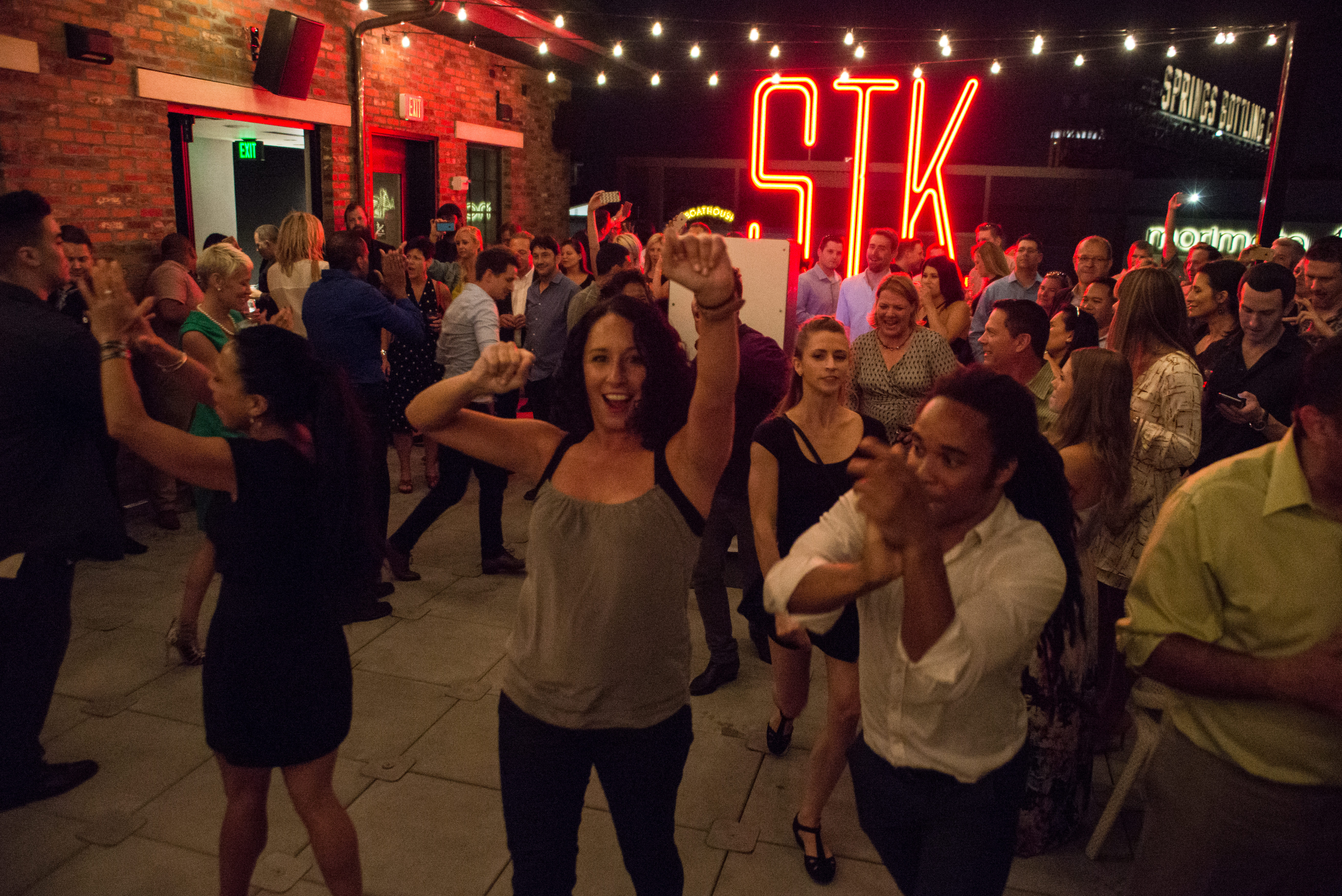 Charmant Flashmob Takes The Action To The Patio During STK Orlandou0027s Grand Opening  Party