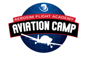 Aerosim Summer Camp - Aviation Camp Logo