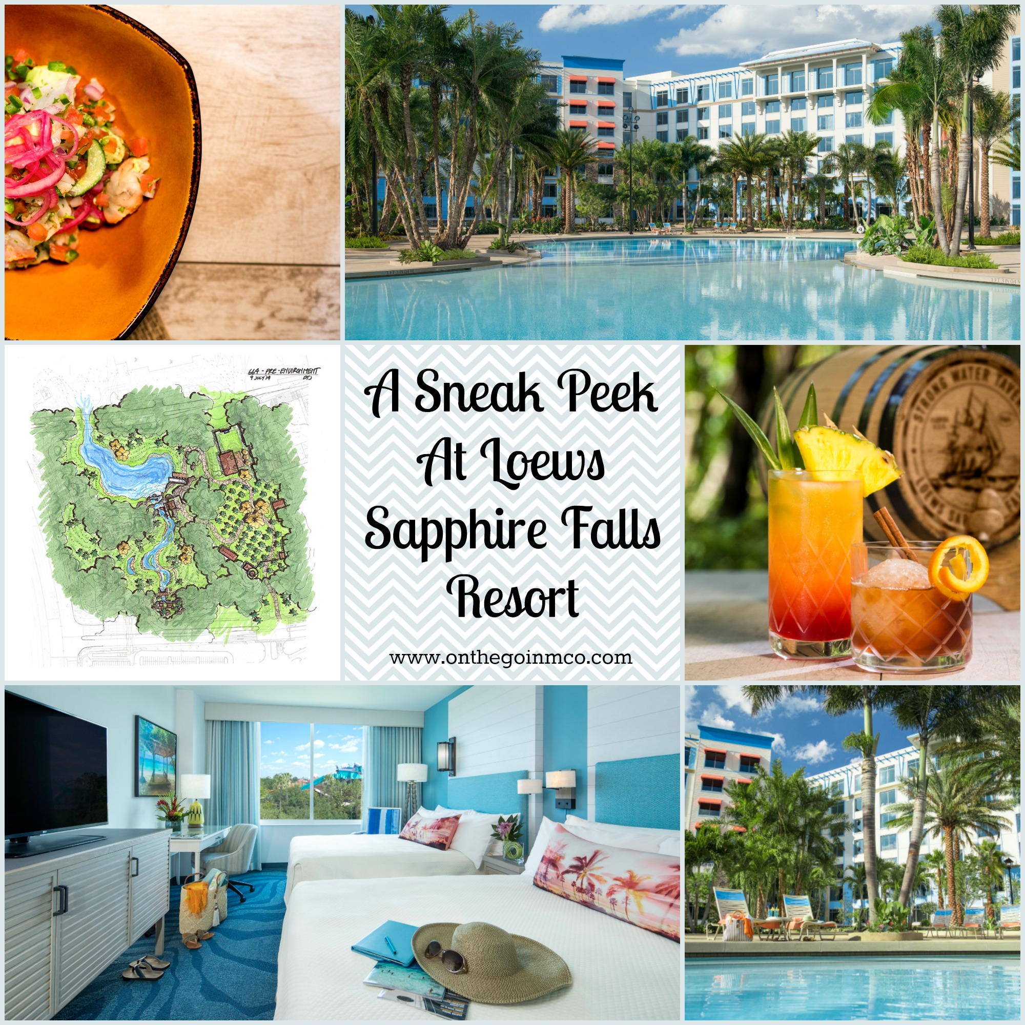 A Sneak Peek At Loews Sapphire Falls Resort Collage