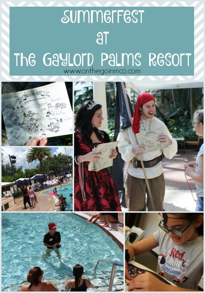Gaylord Palms SummerFest 2016 Collage