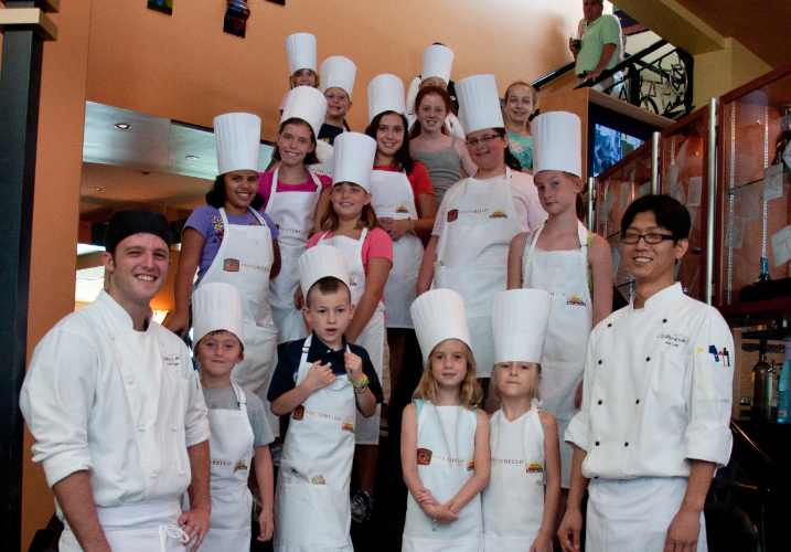 Wolfgang Puck Grand Cafe Kids Sushi Making