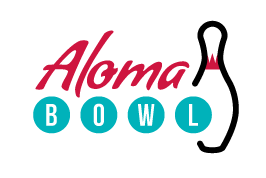 Aloma Bowling Center Logo Aloma Bowl Logo