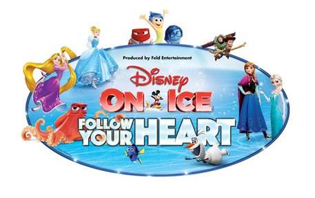 Disney on Ice Follow your heart logo 2016