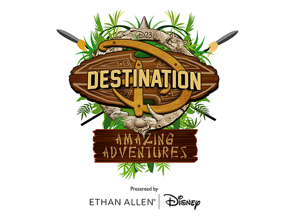 2016 D23 Destination D Amazing Adventures Logo
