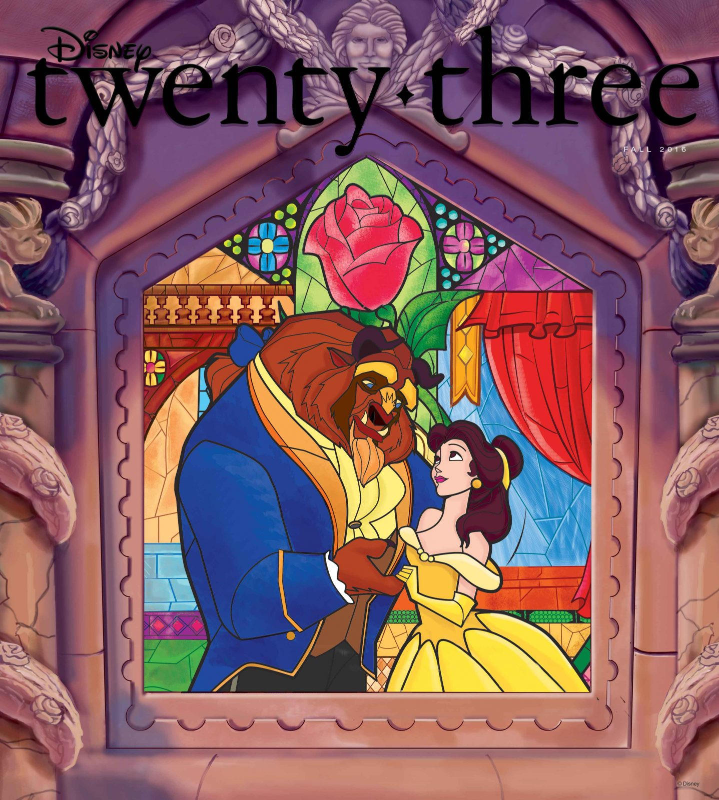 2016 Fall Disney Twenty-three D23 Beauty and the Beast