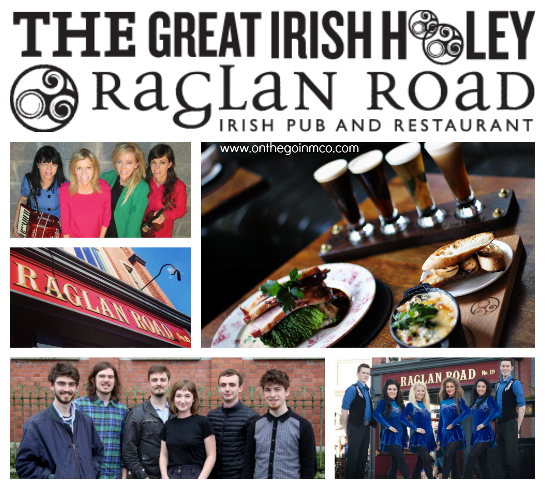 Great Irish Hooley Raglan Road Disney Springs 2016