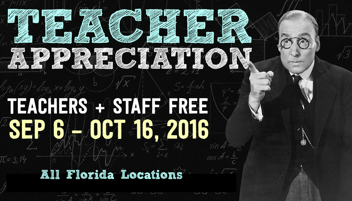 Educator Appreciation Ripleys Orlando