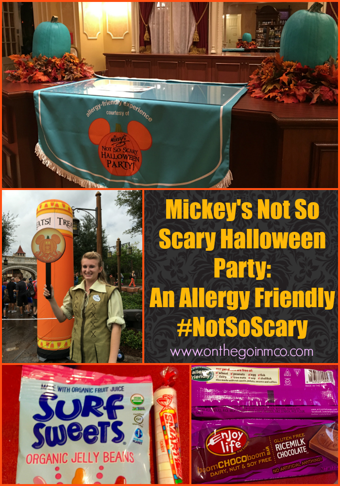Mickey's Not So Scary Halloween 2016 Allergy Friendly trick or treat experience