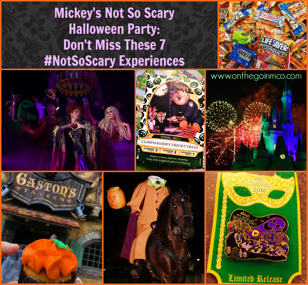 Mickey's Not So Scary Halloween Party 2016 - Highlights - Pinterest Image
