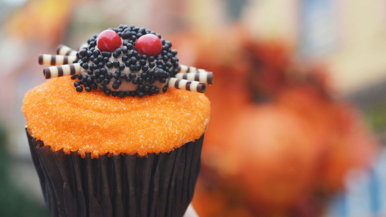 mickeys-not-so-scary-halloween-party-2016-spider-cupcake