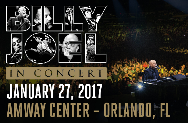 Billy Joel 2016 Amway Center 2016
