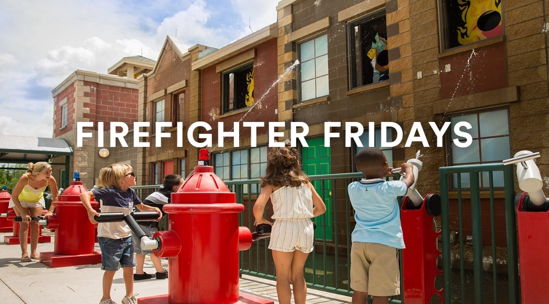 Firefighter Fridays LEGOLAND Florida 2016
