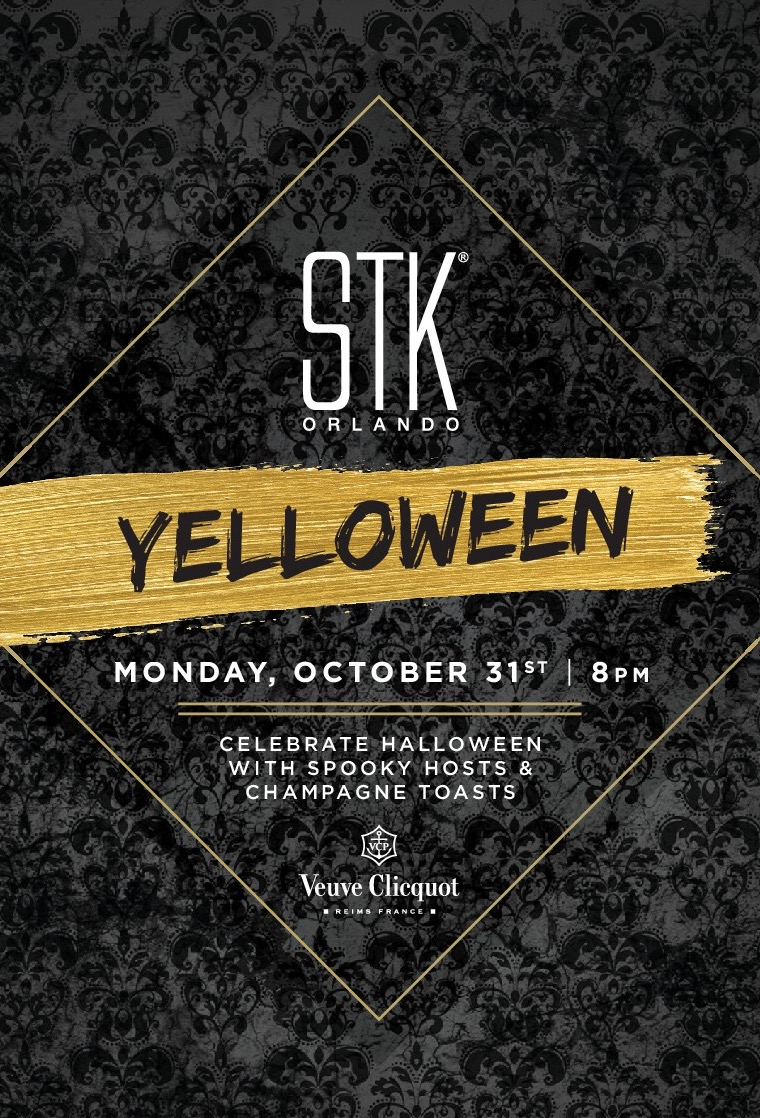 STK Orlando Yelloween Disney Springs WDW