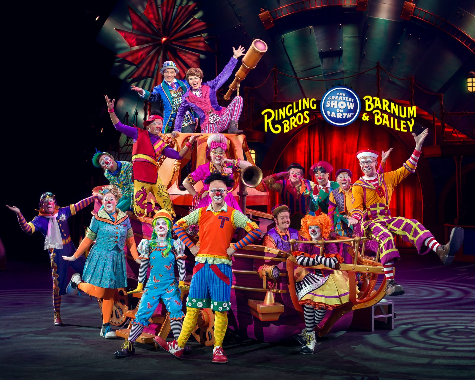 Circus Xtreme Amway Center Clowns