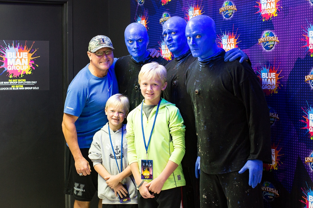 Blue Man Group at Universal Orlando Resort VIP Experience