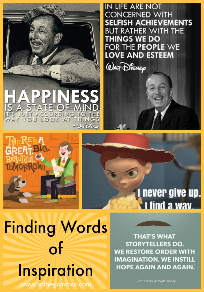 Finding Words of Disney Inspiration