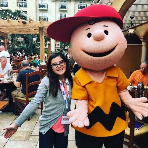 Gaylord Palms ICE 2016 - breakfast-with charlie brown and friends