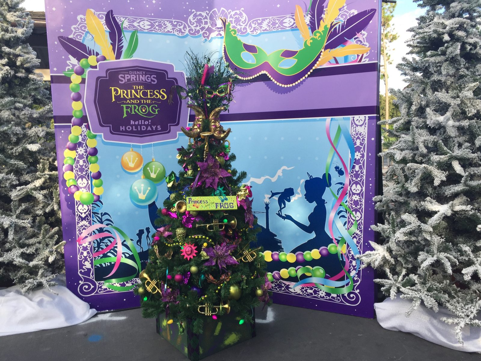Christmas Tree Trail Disney Springs 2016 -