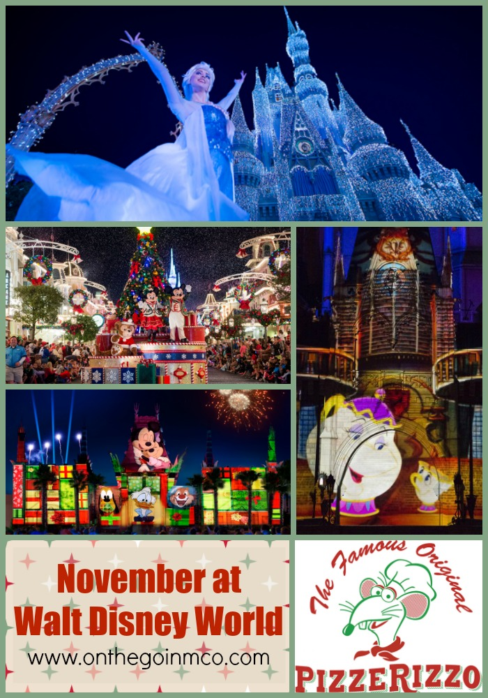 November at Walt Disney World