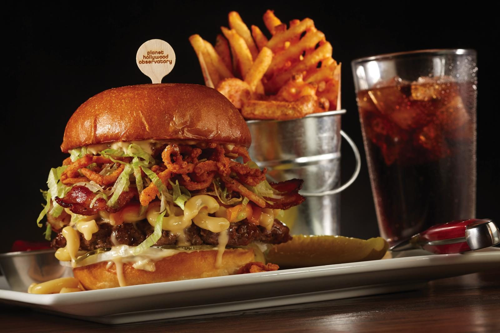 Planet Hollywood Observatory Menu Highlights - On the Go in MCO