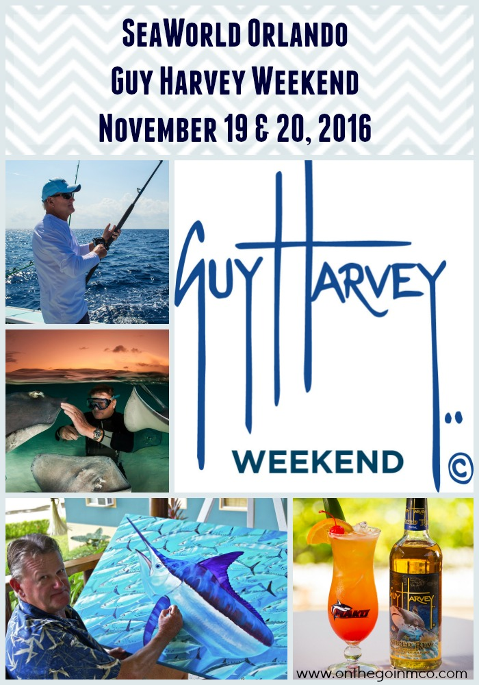 SeaWorld Orlando Guy Harvey Weekend 2016 Collage