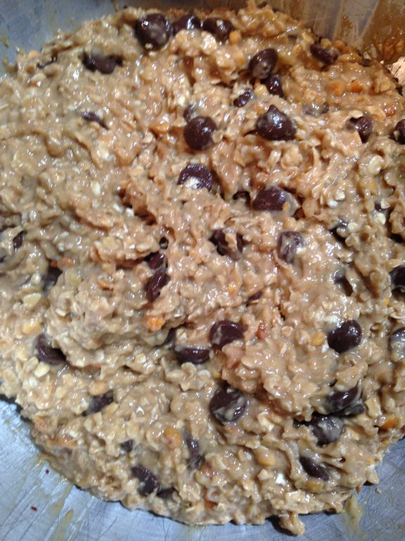 Family Traditions Peanut Butter Banana Oatmeal Cookies