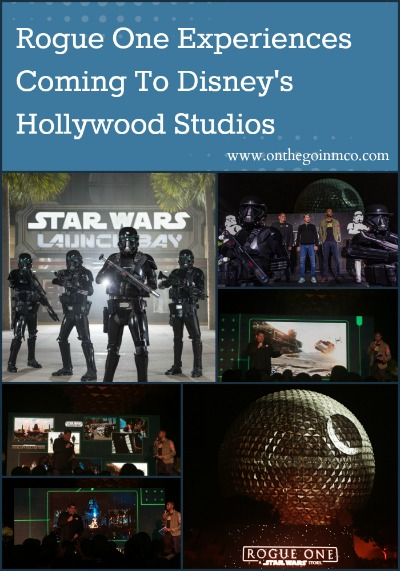 Rogue One Experiences Coming To Disney's Hollywood Studios