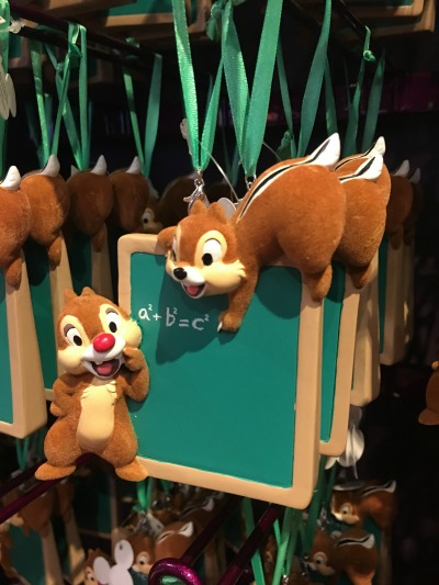 Walt Disney World Holiday Ornament 12 2016 - Chip n' Dale