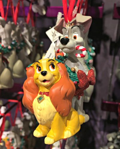 Walt Disney World Holiday Ornament 12 2016 - Lady and The Tramp