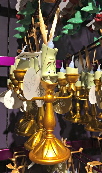 Walt Disney World Holiday Ornament 12 2016 - Lumiere